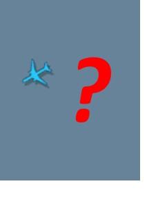 Flightradar24 blaues Flugzeug